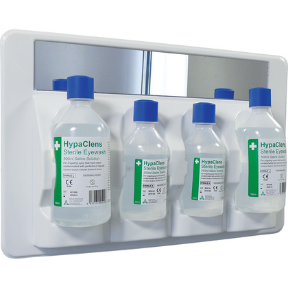 HypaClens 2 x 250ml and 2 x 500ml Eyewash Station