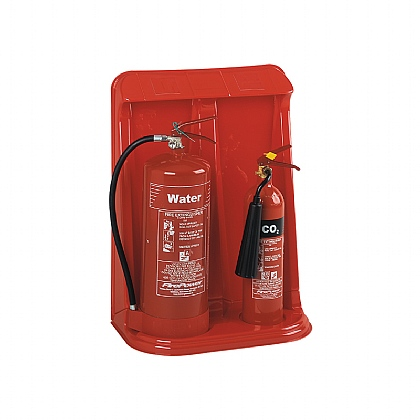 Double Extinguisher Stands