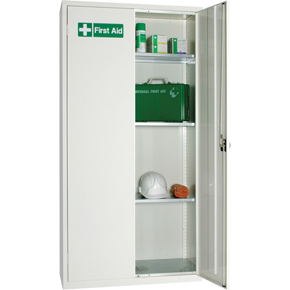 Full Height Metal Cabinet Locker, Empty