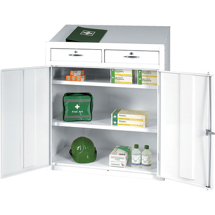 First Aid Workstation, Empty, 120x92x46cm