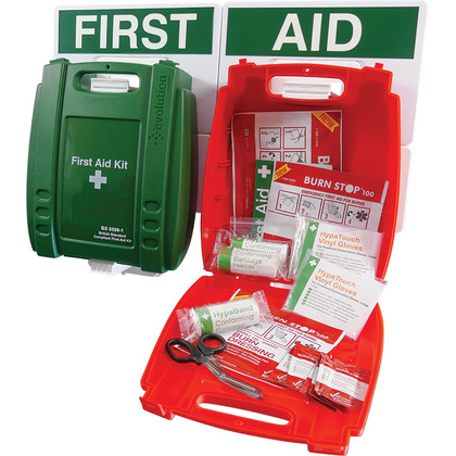 Catering First Aid Point, Green Case (Small)