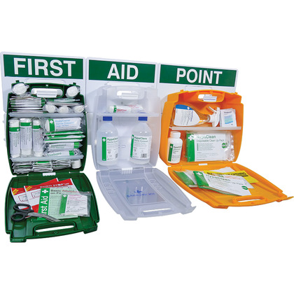 Evolution British Standard Comprehensive First Aid Point (Medium)