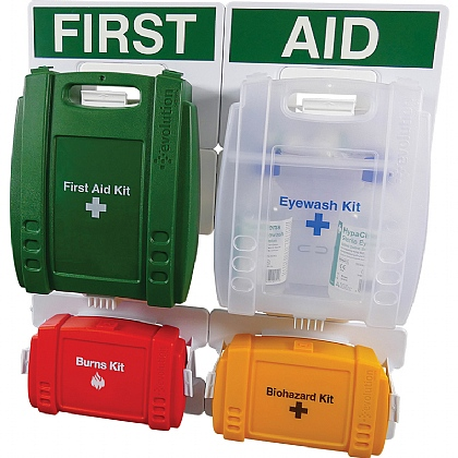 Evolution British Standard Compliant Complete First Aid Point (Small)