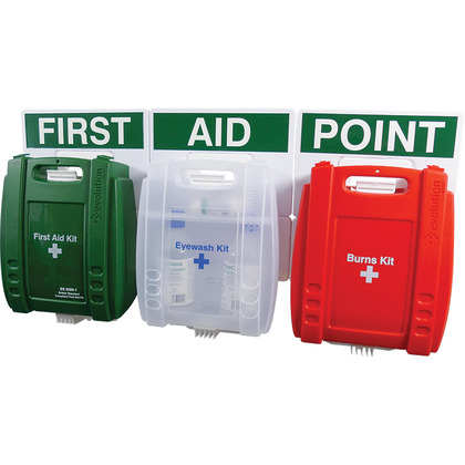 Evolution British Standard Compliant Comprehensive Catering First Aid Point