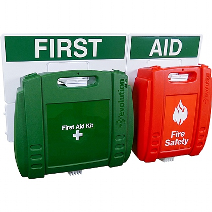 Evolution First Aid and Fire Safety Point (Large)