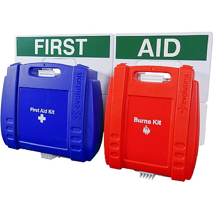 Evolution Catering First Aid Point, Blue Case (Large)