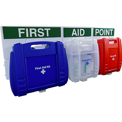 Evolution Comprehensive Catering First Aid Point (Blue Case - Large)