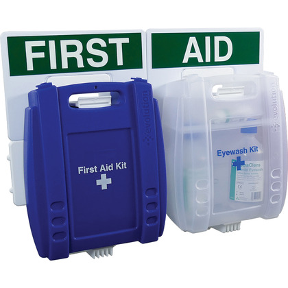 Evolution Eye Wash & Catering First Aid Point (Medium)