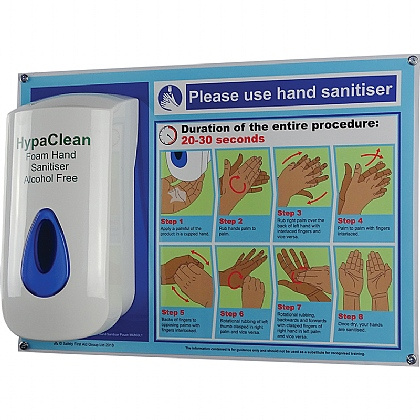 HypaClean Alcohol-Free Hand Sanitiser Dispenser