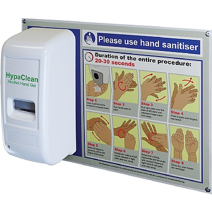 HypaClean Alcohol Hand Gel Station