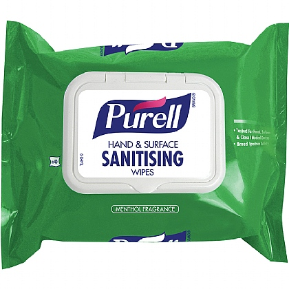 Purell Hand and Surface Sanitising Wipes