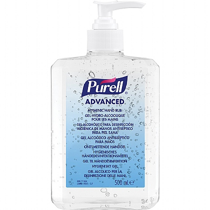Purell Hygienic Hand Rub Pump 500ml