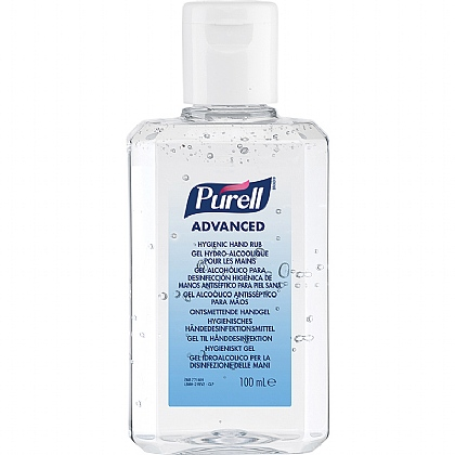 PURELL Hygienic Hand Rub 100ml, Pack of 24