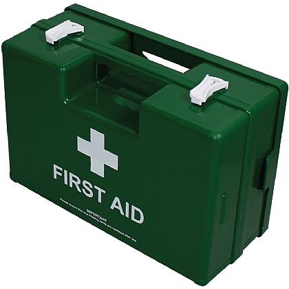 Deluxe 50+ Persons Statutory First Aid Kit in Green Case