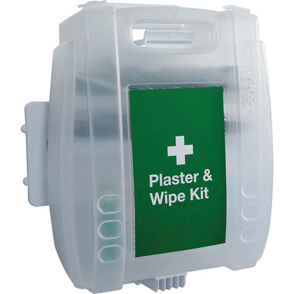 Evolution Blue Detectable Plasters & Wipes Dispenser