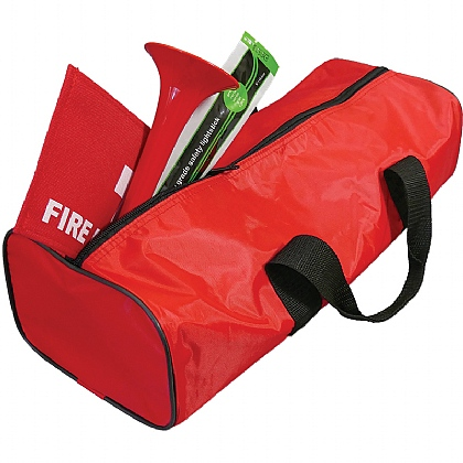 Fire Safety Kit in Red Bag