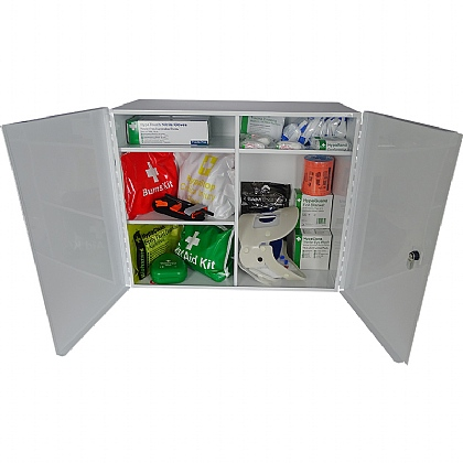 Emergency Trauma Kit in Cabinet, Professional