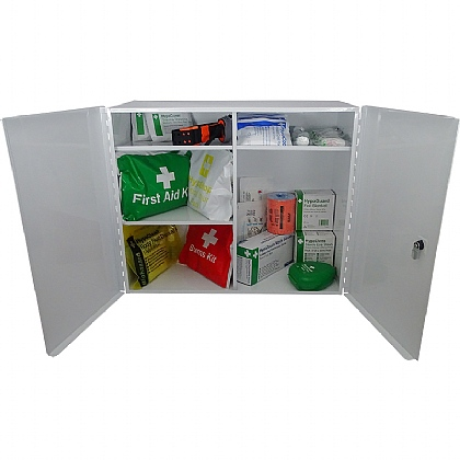 Emergency Trauma Kit in Cabinet
