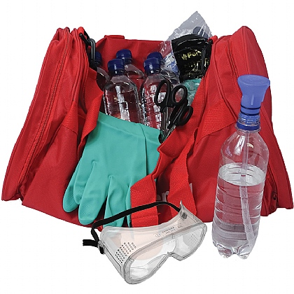 Decontamination Kit for Chemical and Acid Attacks 6 x 500ml