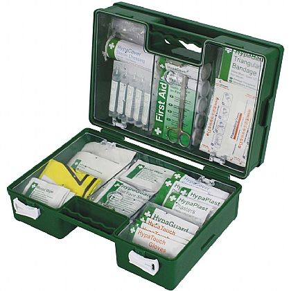 Industrial 11-20 Persons High Risk First Aid Kit in Green Case