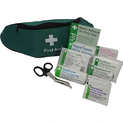 Personal Issue First Aid Kit in Bum Bag