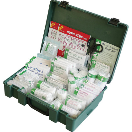 British Standard Compliant Economy Workplace First Aid Kit (Large)