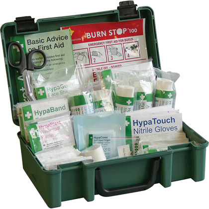 British Standard Compliant Economy Workplace First Aid Kit (Small)