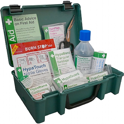 Economy Travel First Aid Kit BS8599 Compliant
