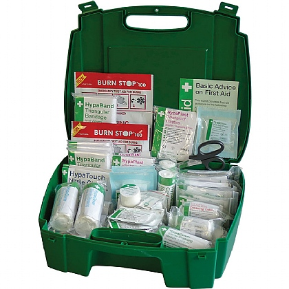 Evolution British Standard Compliant Workplace First Aid Kit, Large (Pack of 4)
