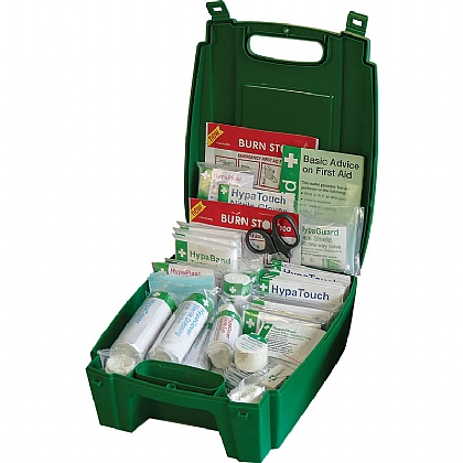 Evolution British Standard Compliant Workplace First Aid Kit, Medium (Pack of 6)