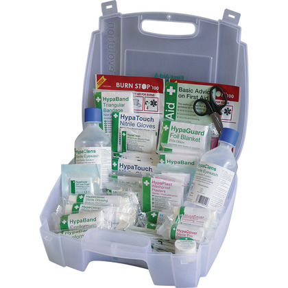 Evolution British Standard Compliant Medium First Aid Kit & Eyewash