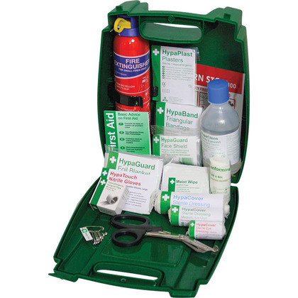 Evolution British Standard Compliant Off-Site Travel & Fire Extinguisher Kit
