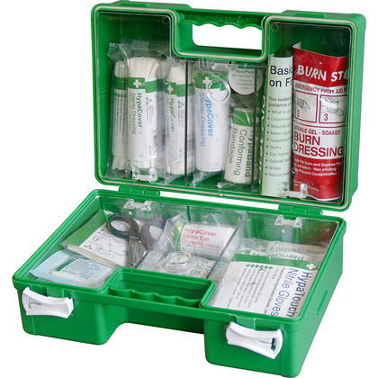 British Standard Compliant Deluxe Workplace First Aid Kit (Small)