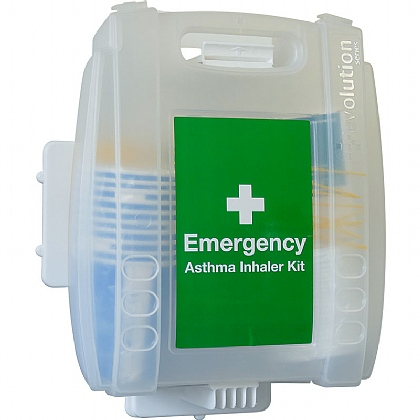 Emergency Asthma Kit with 10 Disposable Spacers