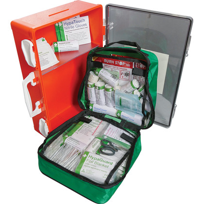 British Standard Compliant Outdoor First Aid Cabinet (Large)