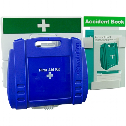 Catering First Aid & Accident Reporting Point (Blue Case - Large)