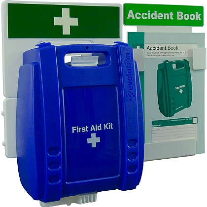 Catering First Aid & Accident Reporting Point (Blue Case - Medium)