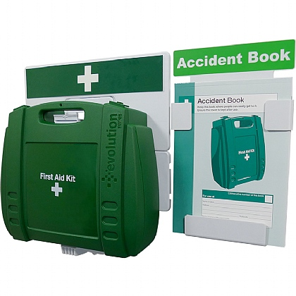Catering First Aid & Accident Reporting Point (Green Case - Large)