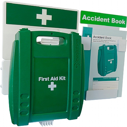 Catering First Aid & Accident Reporting Point (Green Case - Medium)