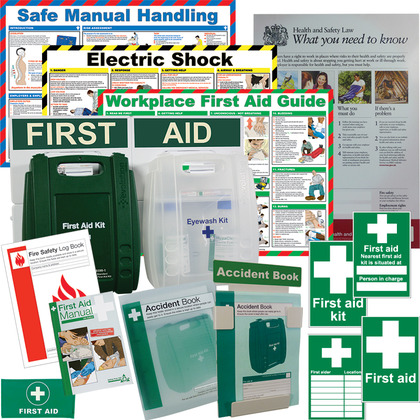 British Standard Compliant Comprehensive First Aid Compliance Pack