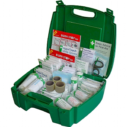 Evolution Catering First Aid Kit BS8599 in Green Case (Large)