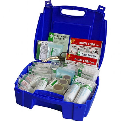 Evolution Catering First Aid Kit BS8599 in Blue Case (Large)