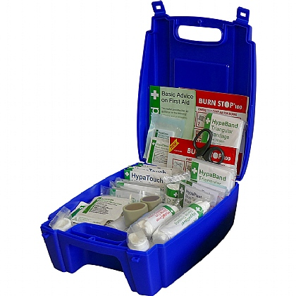 Evolution Catering First Aid Kit BS8599 in Blue Case (Medium)