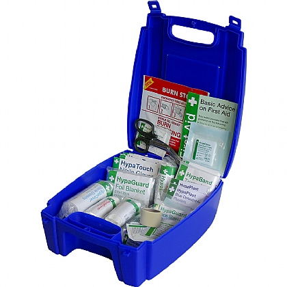 Evolution Catering First Aid Kit BS8599 in Blue Case (Small)