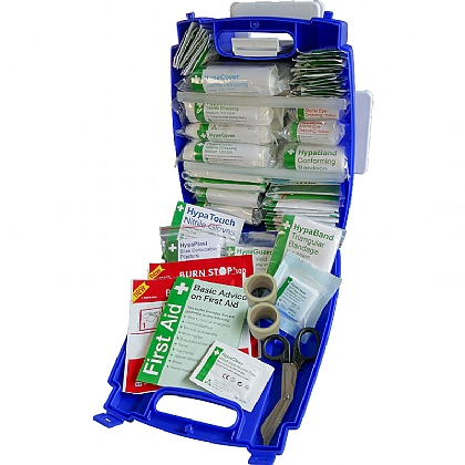 Blue Evolution Plus Catering First Aid Kit BS8599 (Medium)