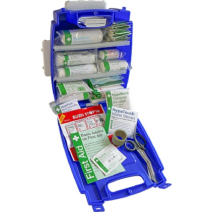 Blue Evolution Plus Catering First Aid Kit BS8599 (Small)