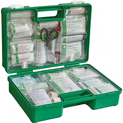 British Standard Compliant Deluxe Catering First Aid Kit (Medium)