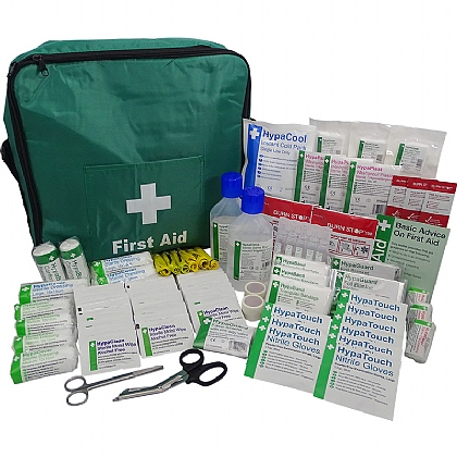 British Standard Compliant Comprehensive First Response Kit