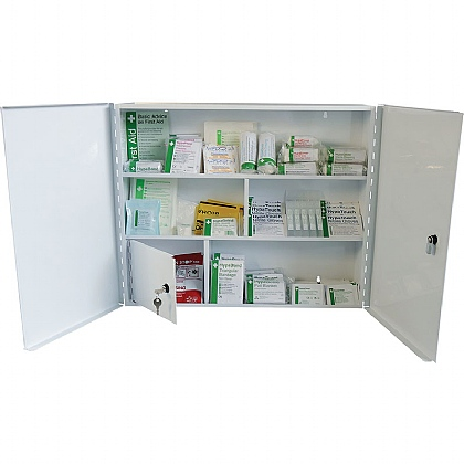 Industrial High-Risk First Aid Cabinet BS8599 (Large)