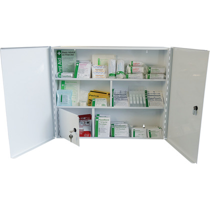 Industrial High-Risk First Aid Cabinet BS8599 (Medium)